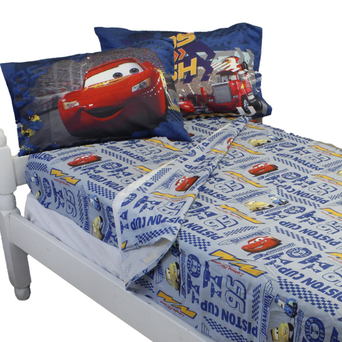 amazon com disney cars mater full size sheet set home u0026 kitchen