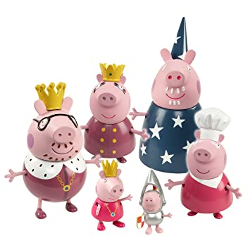 Bandai Peppa Pig - Familia Real Peppa Pig