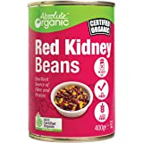 Absolute Organic Beans Red Kidney (Tin) 400g, 4800 g