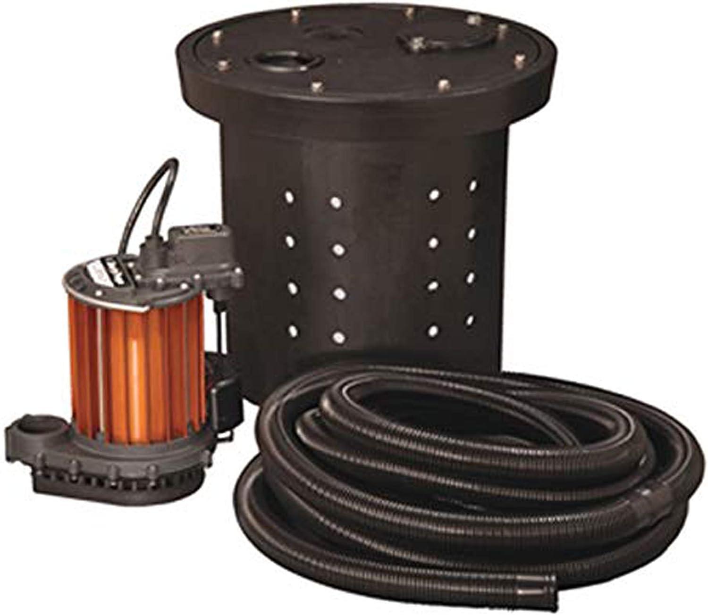 Liberty Pumps CSP-237 Crawl Space 1/3 HP Poly/Aluminum Sump Pump (Pack of 1)