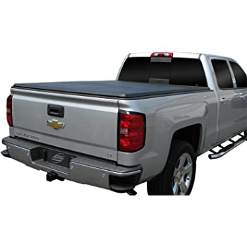 Amazon Com Tac Tonneau Cover For 2014 2019 Chevy