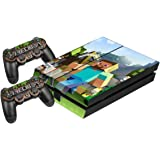 Minecraft Face Game Controller Light Bar Decal Sticker For