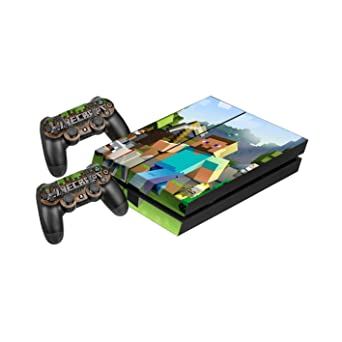 Minecraft Protective Vinyl Skin Decal Cover For Playstation