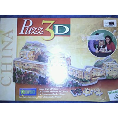 Puzz 3D Great Wall of China by Wrebbit: Toys & Games