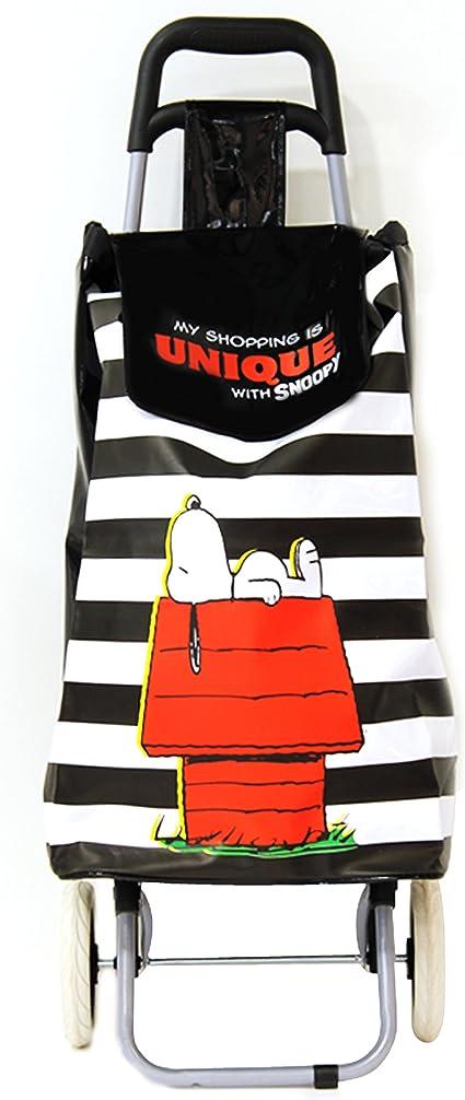 Excelsa Carrito de Compras Snoopy 38 l Rojo