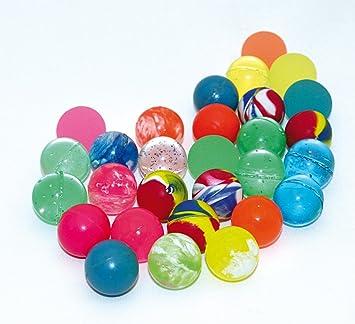Spielzeug & Modellbau (Posten) 100 x Flummis Flummi Springball 45 mm Hüpfball Bouncing Ball Mitgebsel Tombola