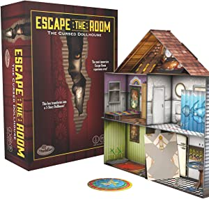 Think Fun Escape The Room The Cursed Dollhouse – an Escape Room Experience in a Box for Ages 13 and Up