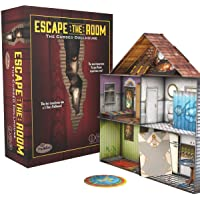 ThinkFun Escape The Room The Cursed Dollhouse – an Escape Room Experience in a Box for Ages 13 and Up (7353)