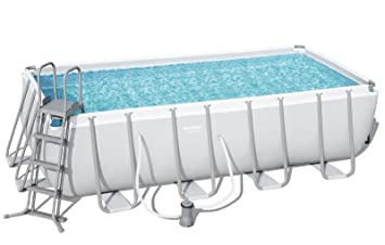 Bestway Power Steel 56670 - Piscina (Piscina con Anillo Hinchable ...