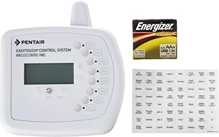 pentair easytouch control system