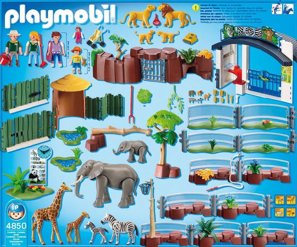 4850 grand zoo de playmobil. Black Bedroom Furniture Sets. Home Design Ideas