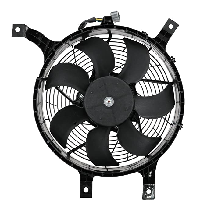 Amazon Com Ac Ac Condenser Cooling Fan For Nissan Xterra Frontier