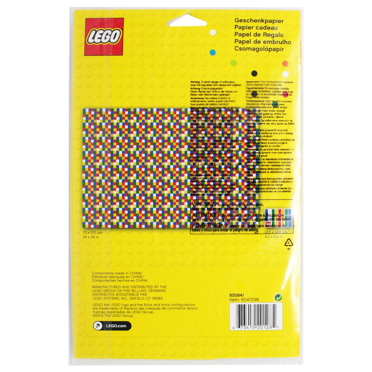 Buy Lego Gift Wrapping Paper Lego Bricks Set line at Low Prices in
