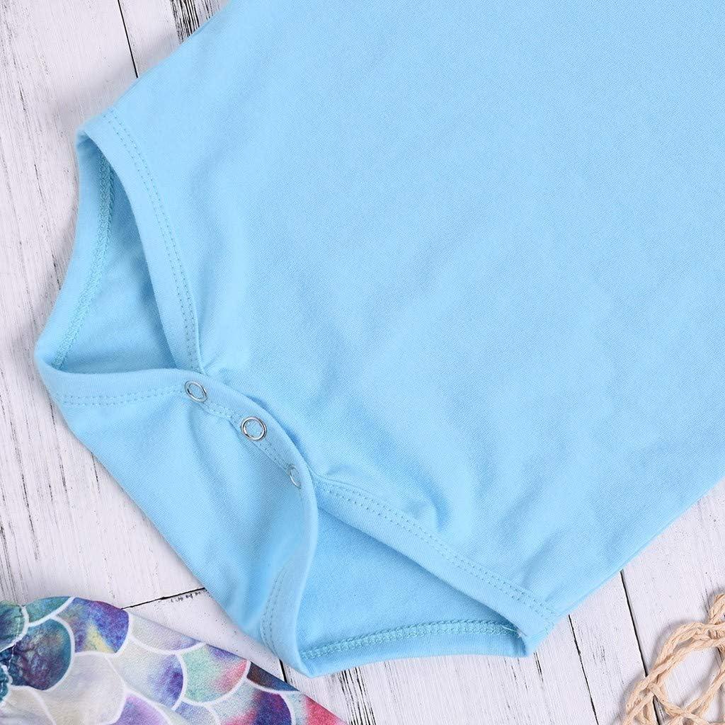 Jimmackey 3pcs Completo Fascia Neonata Solido Manica Corta Pagliaccetto Balze Body Tutine Scala Stampa Pantaloncini