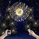 TECKEPIC イルミネーションライト ストリングライト 300 LED ロマンチック雰囲気 防水 クリスマス ハロウィン パーティー 誕生日 結婚式 庭 広場 街路樹 ウォームライト