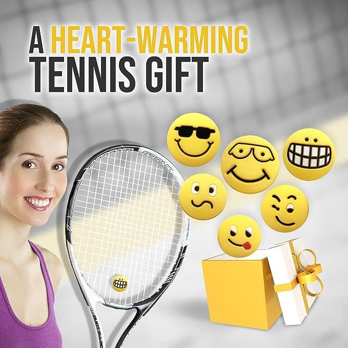 ZHU YU CHUN 10Pcs American Flag Tennis Racket Vibration Dampeners Silicone Tennis String Shock Damping Squash Racket Shock Absorber