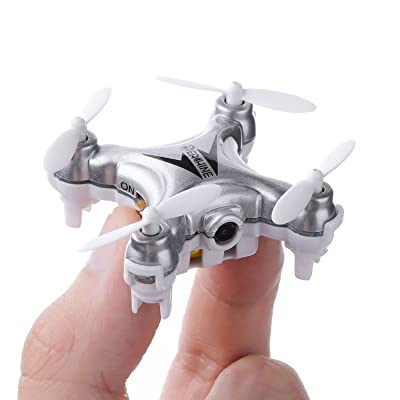 Mini Quadcopter Drone with Camera , EACHINE E10C Mini Quadcopter with HD Camera Selfie Pocked Drone RTF - 3D Flip, APP Control, Headless Mode, One-Key Return, LED Lights: Toys & Games