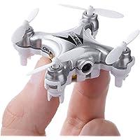 Mini Quadcopter Drone with Camera, EACHINE E10C Mini Drone with 2.0MP HD Camera Remote Control Nano Quadcopter for Kids LED Light RC Drone RTF Mode2