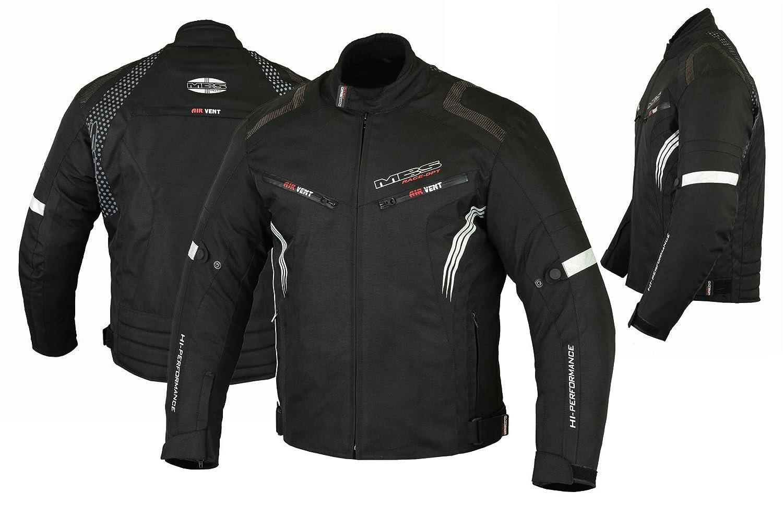 Azul, S MBSmoto MJ22 Max Motocicleta Motocicleta Corta Textile Touring Jacket
