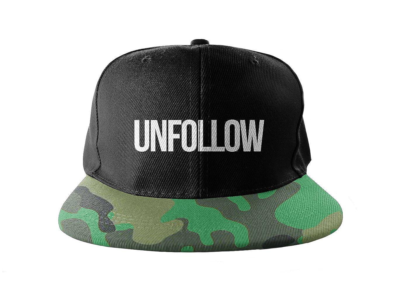 Unfollow Swag Dope Camuflaje Cool Swag Hip Hop impresión Snapback ...