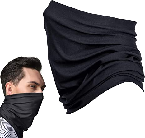 Multi use Biker Balaclava Cycling Neck Tube Scarf Snood Face Mask Warmer Band UK