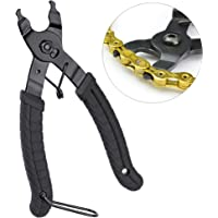Oumers Bike Link Plier Chain Plier Missing Link 2 in 1 Opener Closer Remover Plier/Bike Chain Tool Compatible with all Speed Chains Repair