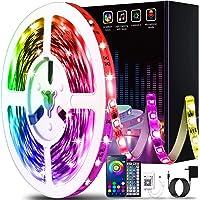 50ft Led Lights for Bedroom, Keepsmile APP Control Music Sync Color Changing Led Light Strips Led Strip Lights with…