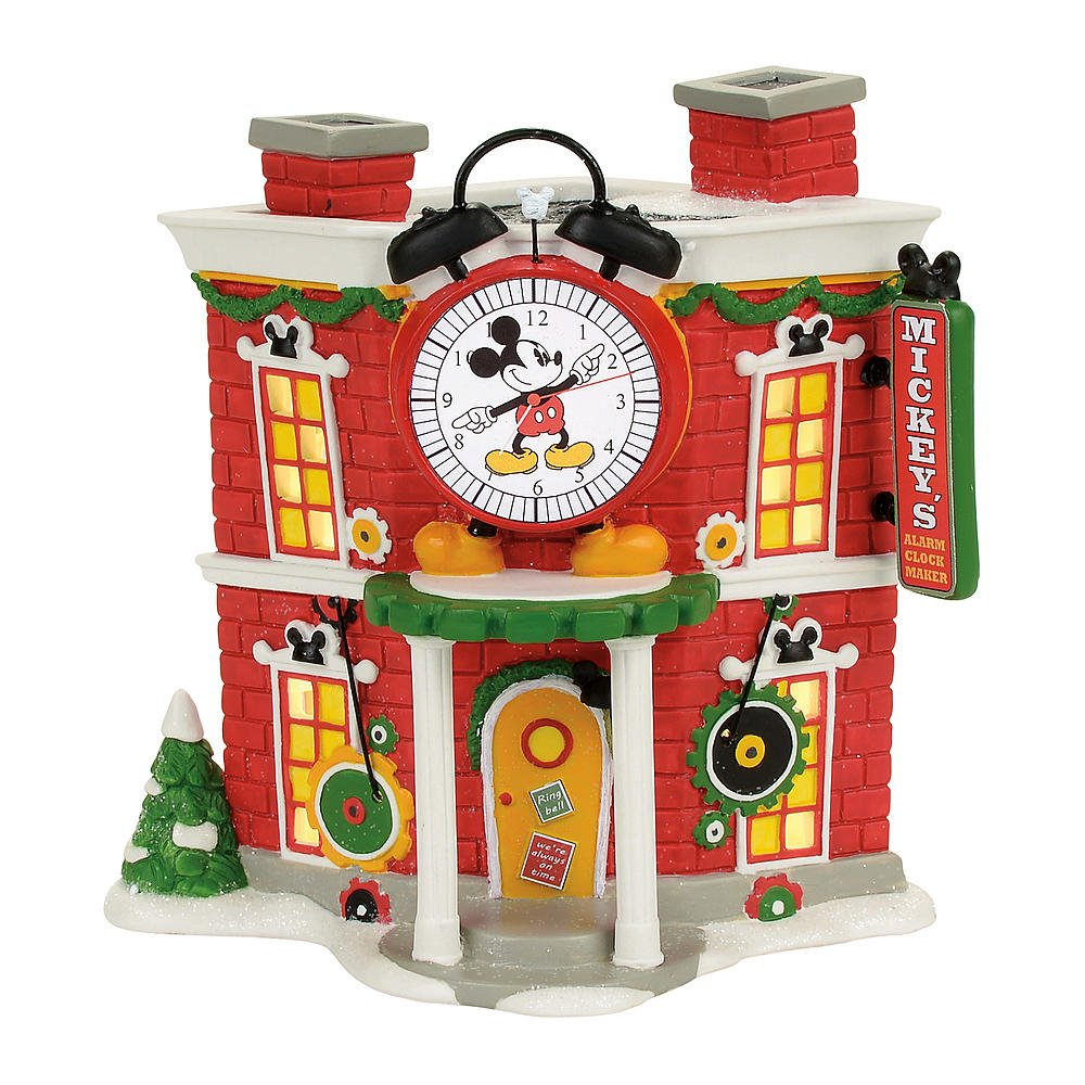 Disney Mickey's Alarm Clock Shop by Disney