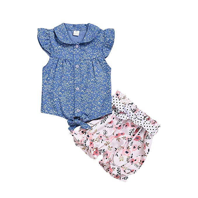 551c91682b276 Toddler Kid Girl Outfit Long Sleeve Lotus Leaf Lace T-Shirt + Plaid Strap  Overall Dress Suspender Skirt Set for 1-6T