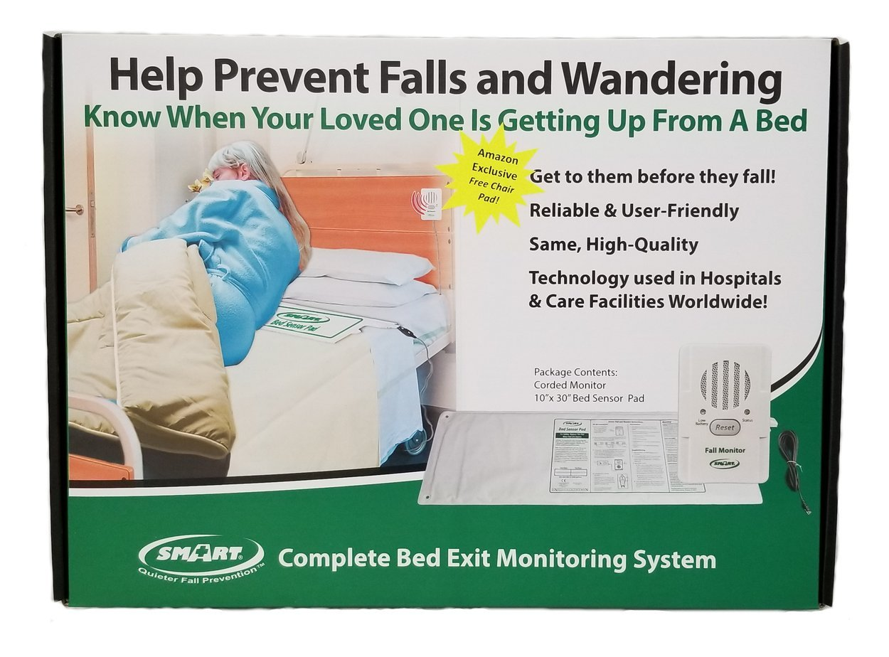 Smart Caregiver Corporation Complete Bed Exit Monitoring System, 3.45 Pound