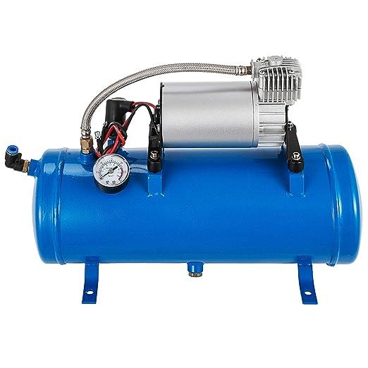 Moracle Compresor de Aire 12V 6L Compresor de Aire para Automóvil Mini Compresor de Aire Bomba Inflador Neumático Portátil: Amazon.es: Bricolaje y ...