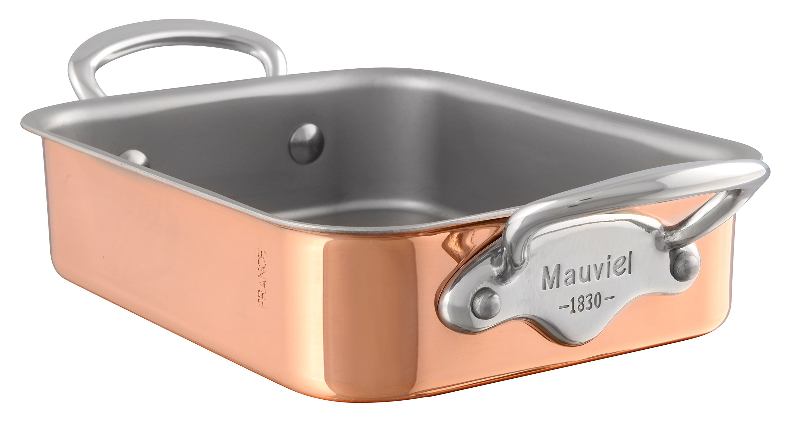 Mauviel M'Mini Rectangular Roasting Pan - Copper
