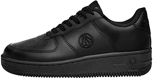 1337 Unisex Fashion Casual Leather Low Top Sneakers Shoes