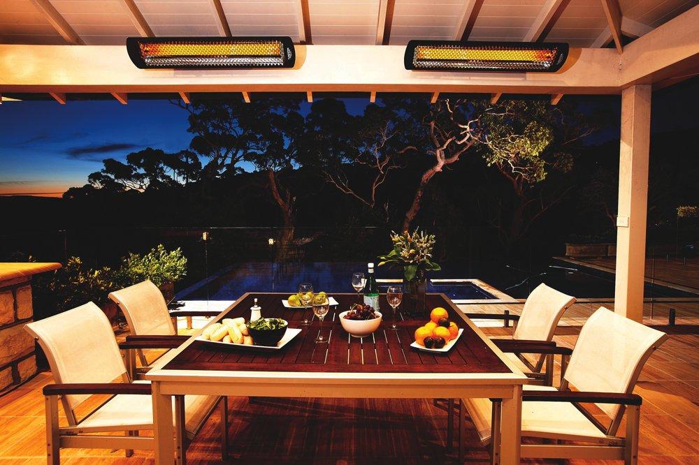 Amazon.com : Bromic Tungsten Smart Radiant Infrared Electric Patio Heater,  4000 Watt : Garden U0026 Outdoor