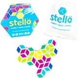 MÖBI Stellö Color Matching Game - Family Friendly Hexagon Match Game Age 5 to Adult, Fun and Easy Colorful Sequence Game…