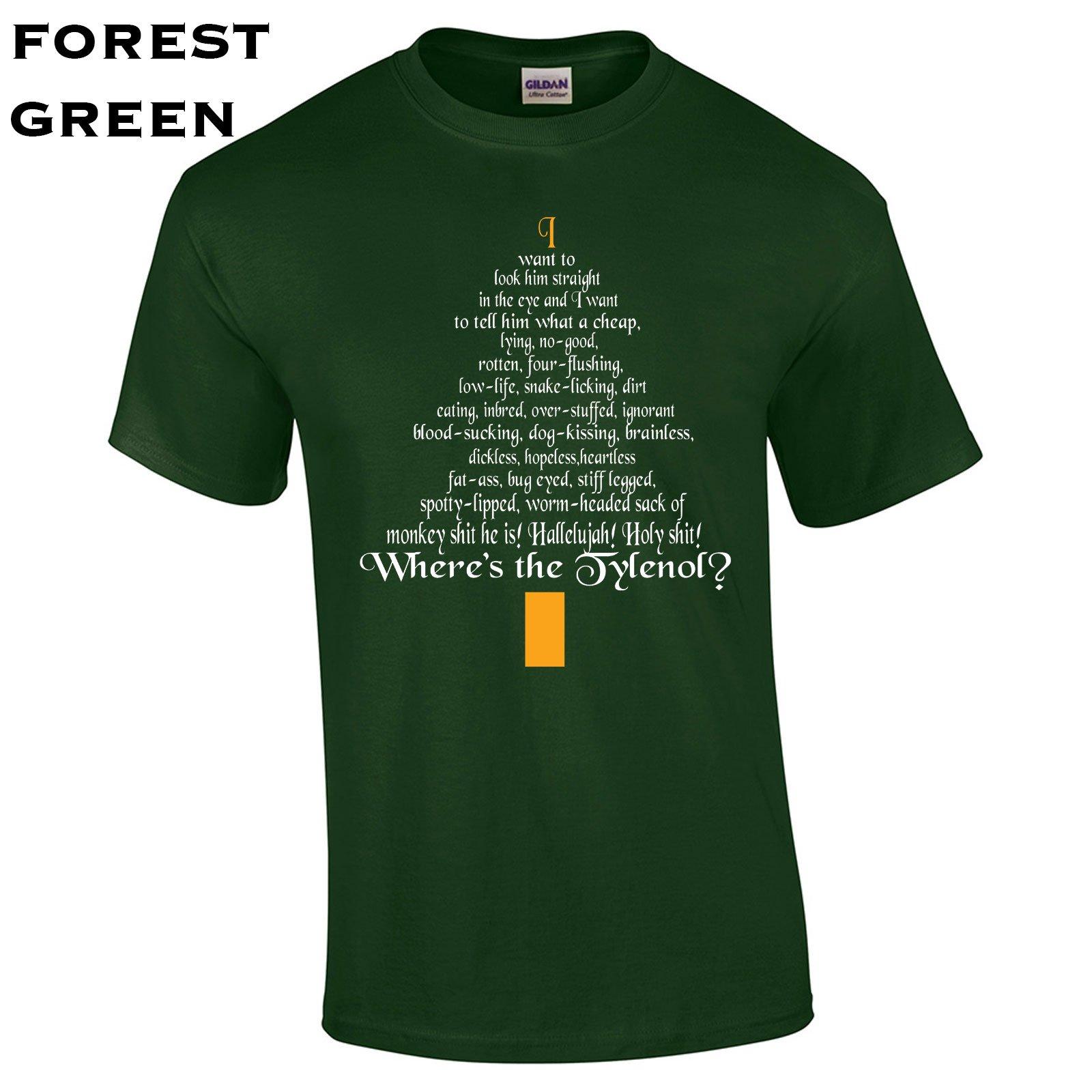 398 Clark Rant Funny Christmas Mens T Shirt