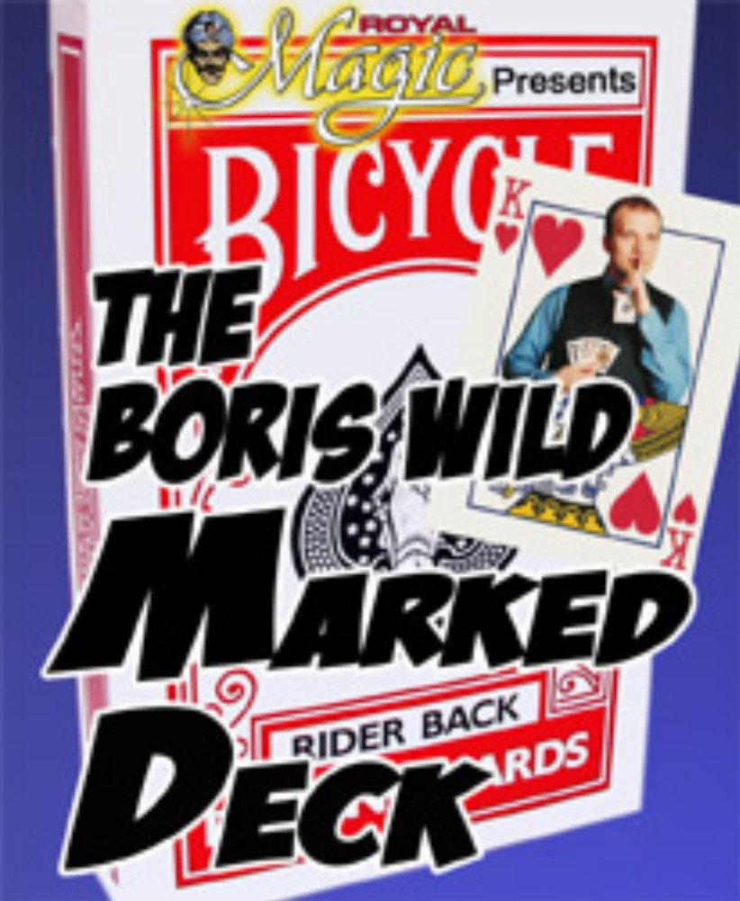 The Boris Wild Marked Deck from Royal Magic  A UserFriendly Deck of Marked Cards
