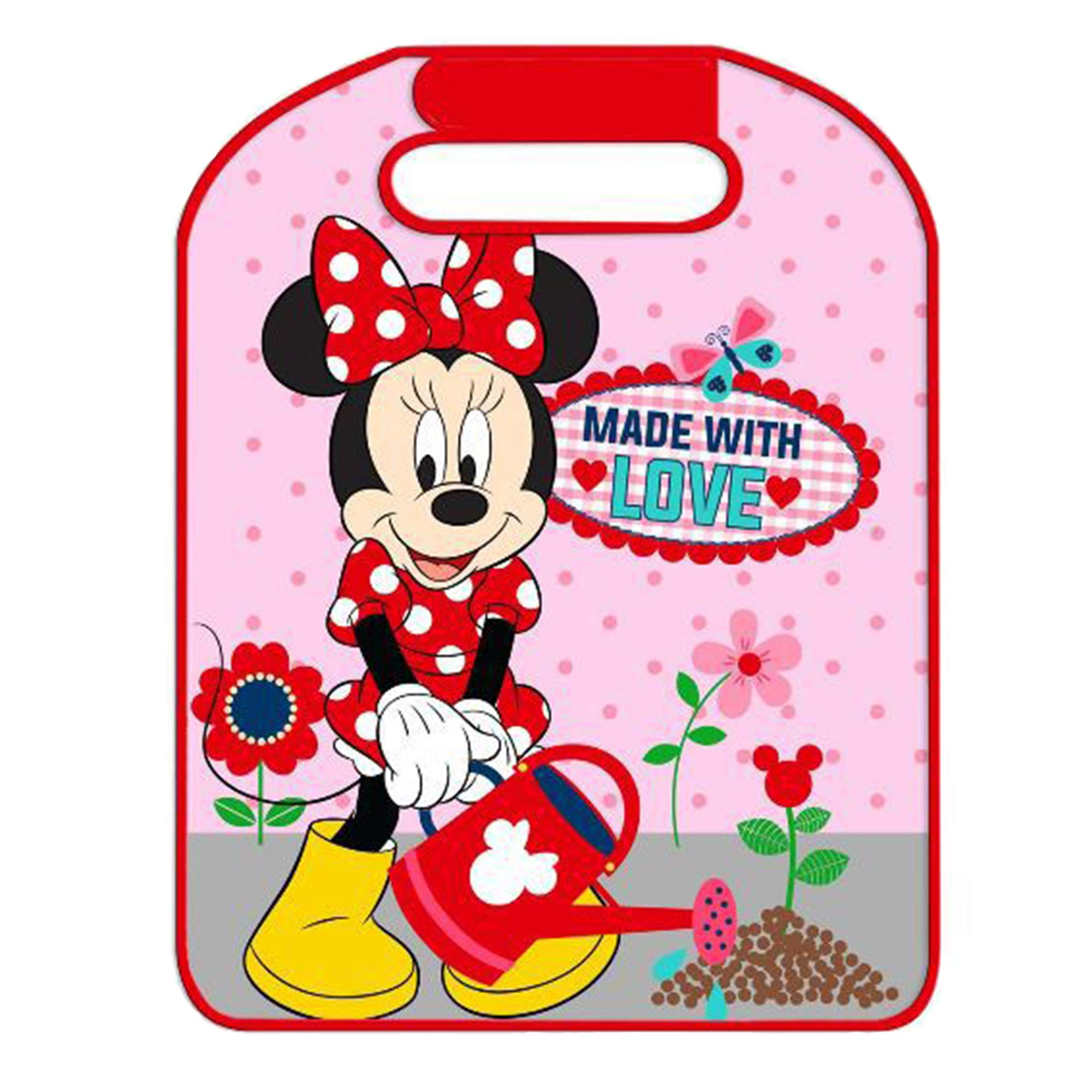 Disney Minnie Mouse Baby Back Seat Car Protector by Eurasia