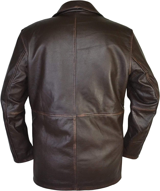 Dean Winchester Supernatural Distressed Brown 100/% Real Leather Men/' Jacket Coat