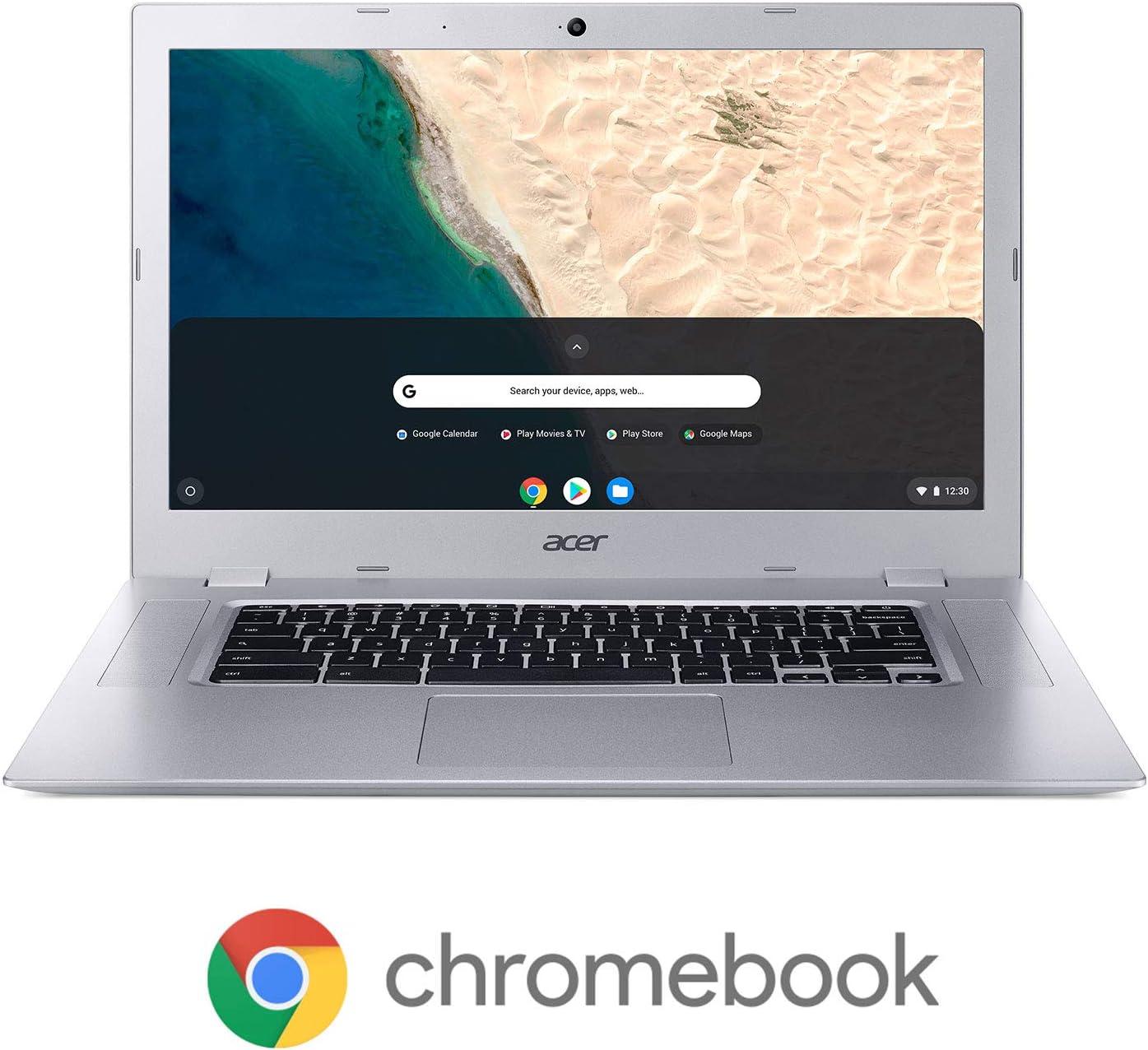 """Acer Chromebook 315, AMD A4-9120C Processor, 15.6"""" Full HD Touch Display, AMD Radeon R4 Graphics, 4GB DDR4, 64GB eMMC, 802.11ac WiFi, Bluetooth, Google Chrome, CB315-2HT-44MJ"""