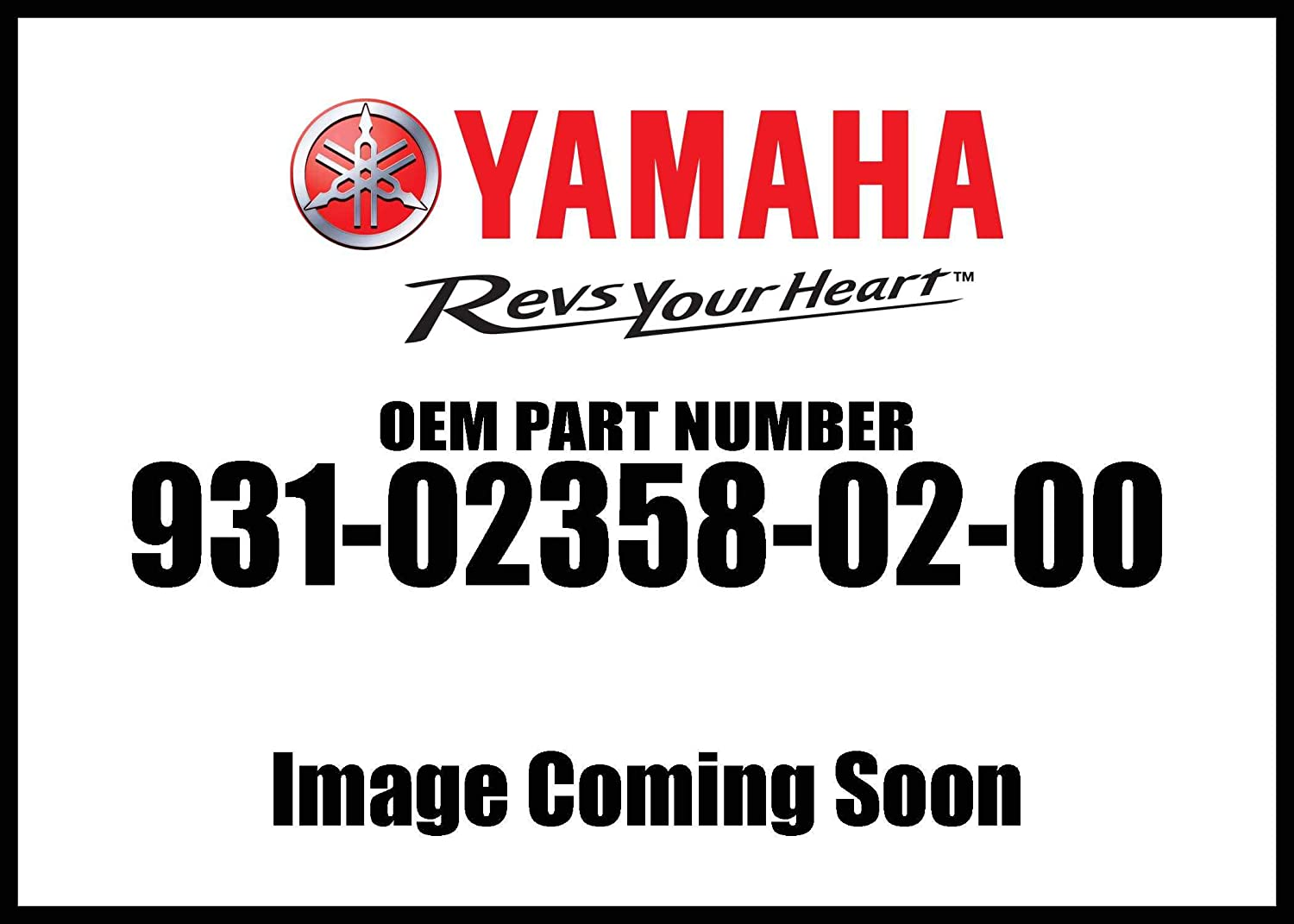 Yamaha 93102-35802-00 Oil Seal; 931023580200 Made by Yamaha