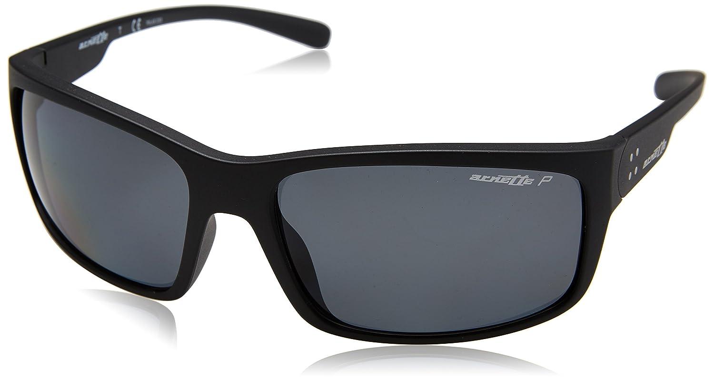 Arnette Mens Fastball 2.0 Polarized Rectangular Sunglasses matte black 62.0 mm 0AN4242