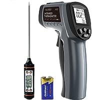 Termómetro Infrarrojo Digital,SURPEER IR5D Termometro Laser -50℃~550℃(-58℉~1022℉),Pistola Laser
