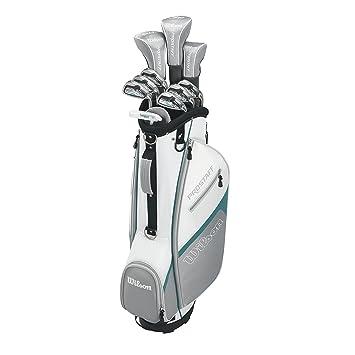 Wilson Pro Staff Hdx Gra Llh 1/2 Set Juego de Palos de Golf ...