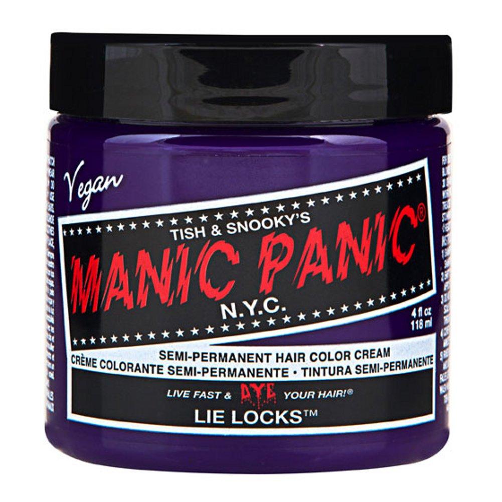 MyPartyShirt Lie Locks Purple Manic Panic 4 Oz Hair Dye