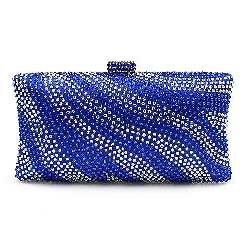 Ya Jin - Cartera de mano para mujer Azul azul: Amazon.es: Zapatos y complementos