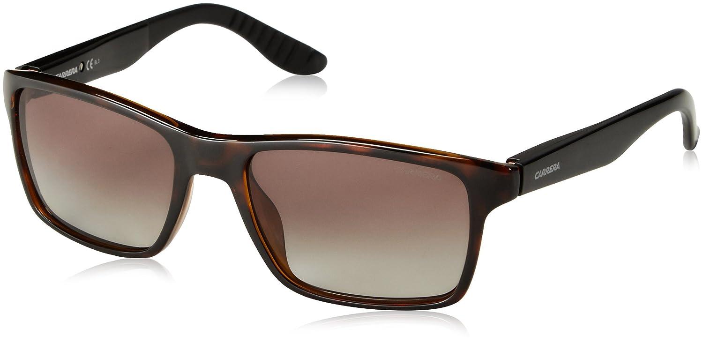 Carrera Unisex Rechteckig Sonnenbrille, Gr. One Size, Braun