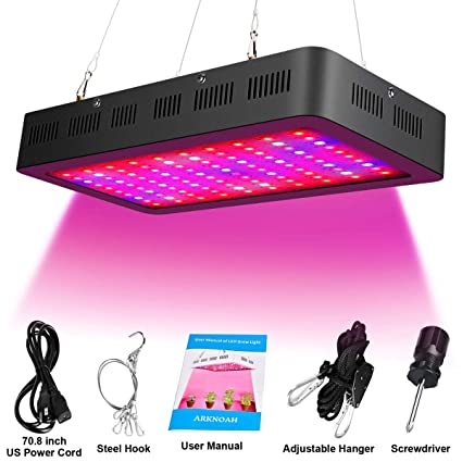 grow Hydroponics & Seed Starting Supplies 1500W LED Grow Light Full Spectrum UV for INDoor Medial Plants  Hydroponic WHite