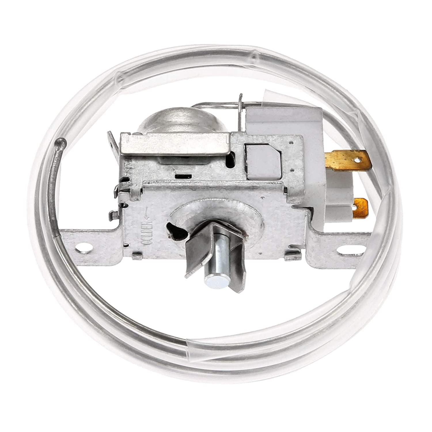 2198202 Refrigerator Cold Control Thermostat, Replaces Part # 2161284 2198201 AP3037004 PS329884 WP2198202 2169112, Update Durable Replacement Part Fit for Whirlpool, Kenmore, Roper, Estate, Crosley