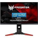 Acer XB Predator XB271HU IPS 27-Pulgada WQHD Monitor (2560 x 1440 Pixeles, LED, 2K HD, IPS, 1000:1, 16:9), Color Negro y Rojo